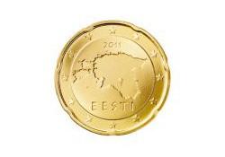 20 Cent Estland 2011 UNC