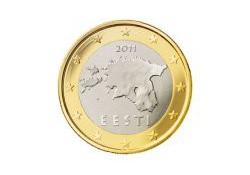 1 Euro Estland 2011 UNC