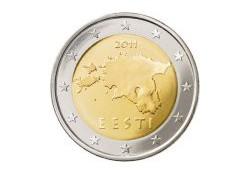 2 Euro Estland 2011 UNC