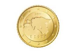50 Cent Estland 2011 UNC