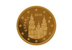 5 Cent Spanje 2012 UNC