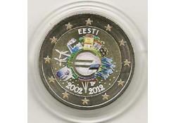 2 Euro Estland 2012 10 Jaar Euro Gekleurd 144/2