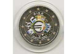 2 Euro Ierland 2012 10 Jaar Euro Gekleurd 148/2