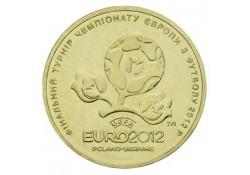 Km ??? 1 Roeble oekraïne 2012 Unc EK Voetbal