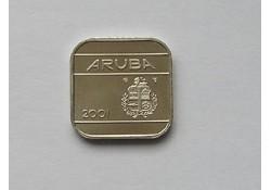 50 cent Aruba 2001 UNC/FDC