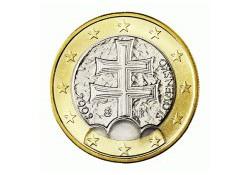 1 Euro Slowakije 2011 UNC