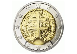 2 Euro Slowakije 2011 UNC