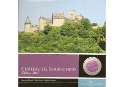 Luxemburg 2012 5 euro Château de Bourscheid