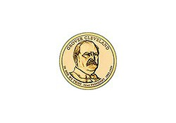 KM ??? U.S.A. 22 th President Dollar 2012 P  Grover Cleveland