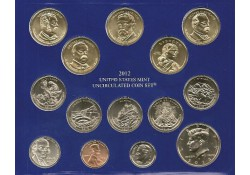 Uncirculated Coin Set 2012 P