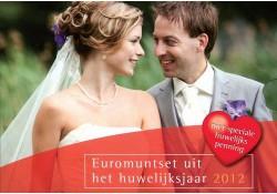 Huwelijksset 2012 Met penning