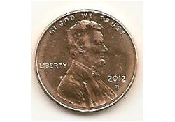 KM??? U.S.A. 1 Cent 2012 D Unc