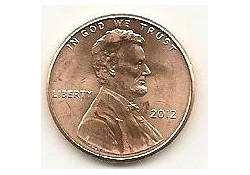 KM??? U.S.A. 1 Cent 2012 Unc