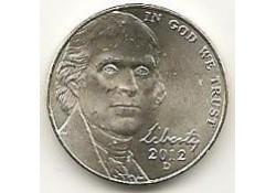 KM+381 U.S.A. 5 Cent 2012 P Unc