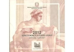 Bu set Italië 2012 met de 5 euromunt