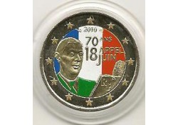 2 Euro Frankrijk 2010 de Gaulle Gekleurd 108/2