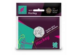 Groot Britannië 50 Pence 2012 Olympics num.16 Hockey
