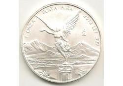 Km 639 Mexico Onza 2012 Unc 1 Ounce zilver