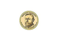 KM ??? U.S.A. 23 th President Dollar 2012 D Benjamin Harrison