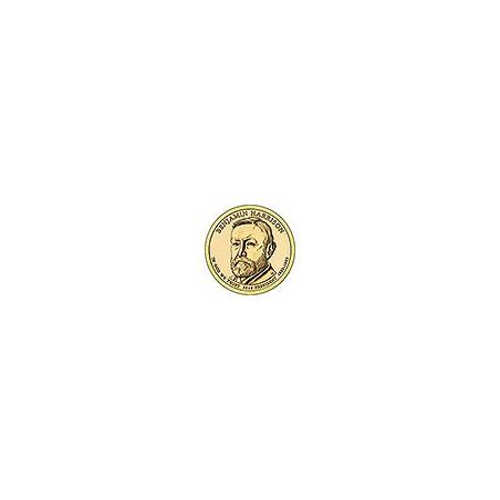 KM ??? U.S.A. 23 th President Dollar 2012 P Benjamin Harrison