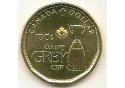 Km+??? Canada 1 Dollar 2012 Unc Grey Cup