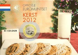 Nederland 2012 Kerstset deel 11 Met de 2 euro 10 jaar euro