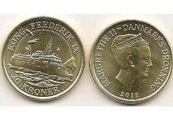 Km ??? Denemarken 20 Kroner 2012 Unc Kong Frederik IX