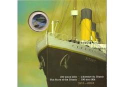 Km ??? Canada 25 Cents 2012 100 jaar Titanic