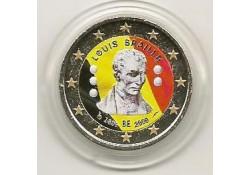 2 Euro België 2009 Braille Gekleurd 095/2