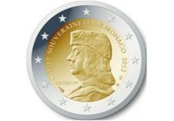 Monaco 2012 2 euro Lucien Grimaldi Unc