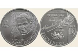 10 Euro Slowakije 2012 Anton Bernolak Bu