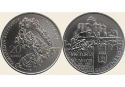20 Euro Slowakije 2012 Trencin Bu