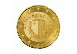 20 Cent Malta 2011 UNC