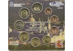 Bu set Spanje 2013 World Money Fair Berlin met 2x 2 euro