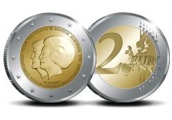 Nederland 2013 2 Euro Dubbelkop Beatrix & Alexander Unc