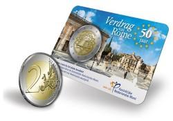 Nederland 2007 2 Euro Verdrag van Rome Unc  In coincard