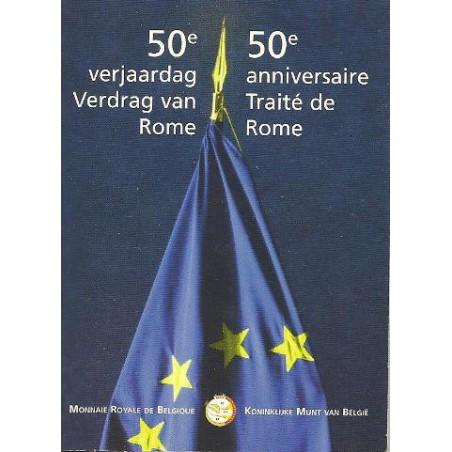 2 Euro België 2007   Verdrag van Rome FDC In blister