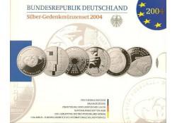 10 euro Duitsland 2004 6X Proof