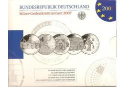 10 euro Duitsland 2007 5X Proof