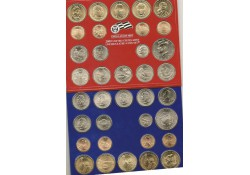 Uncirculated Coin Set 2009 D & P