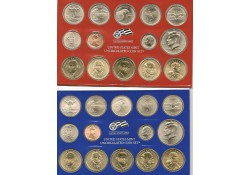 Uncirculated Coin Set 2007 D & P