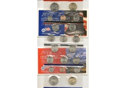 Uncirculated Coin Set 2006 D & P