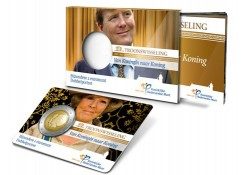 Nederland 2013 2 Euro Beatrix & Alexander UNC In coincard m. boe