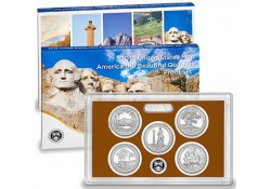Proofset U.S.A. 2013 The Beautiful Quarters Proof