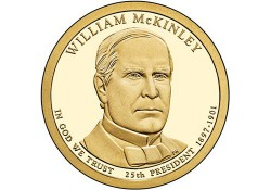 KM ??? U.S.A. 25 th President Dollar 2013 P William McKinley