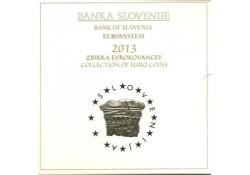 Bu set SLovenië 2013 Met de 2 & 3 euromunt.