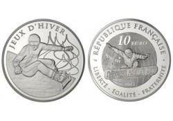 Frankrijk 2013 10 euro Proof Jeux d'hiver Snowboard in originele