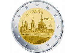 2 Euro Spanje 2013 Klooster El Escorial Unc