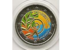 2 euro Griekenland 2011 Athene 2011 gekleurd 134/5