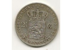 2½ gulden 1869 zf